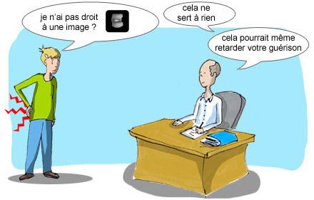 Dépistage chez le médecin
