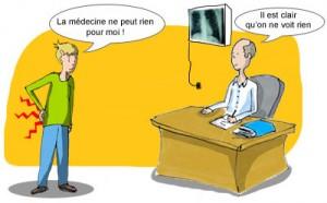Parcours médical amenant à l'échec