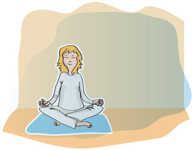 Lombalgie - environnement de la relaxation