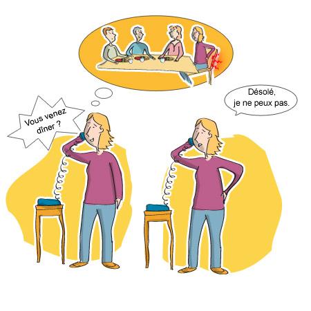 Lombalgie - Les mécanismes de l'isolement social - La gêne technique