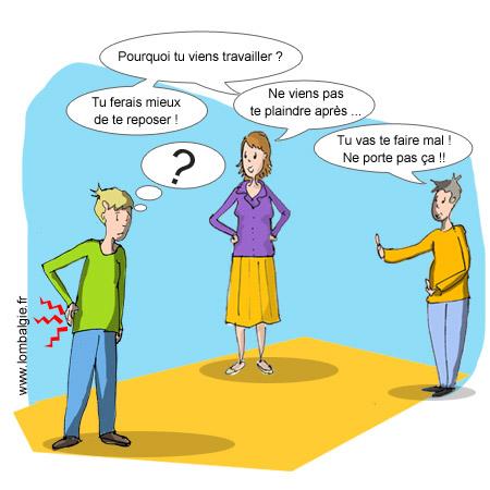 Lombalgie - Les mécanismes de l'isolement social - La sur-protection sociale