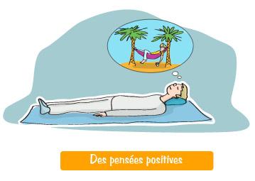 Lombalgie - Lutte contre la perte de confiance - La relaxation : la visualisation