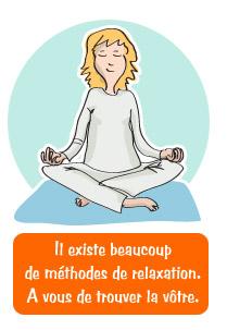 Lombalgie - principes de la relaxation