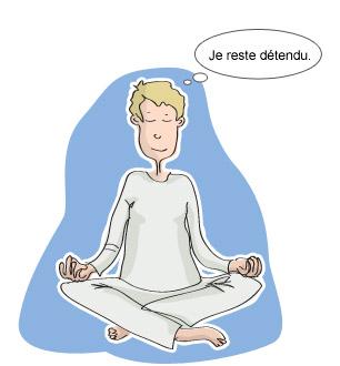 rester détendu