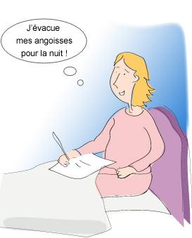 Lombalgie - Gestion du stress : écrire ses pensées