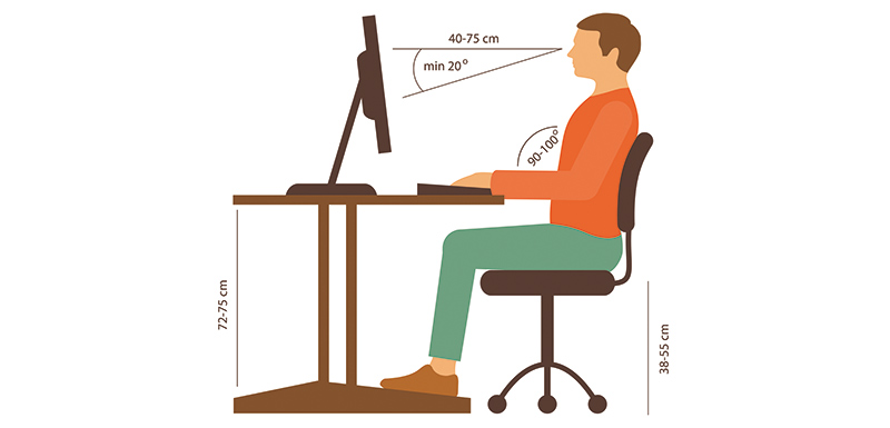 Comment adopter une bonne position assise ?